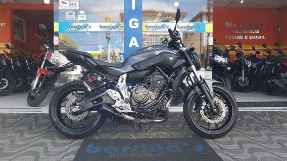 Yamaha Mt 07 2016 Cinza Impecável