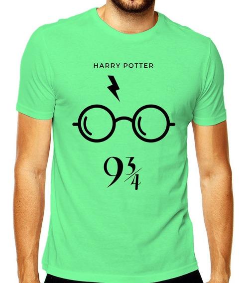 Camiseta Camisa Nerd Harry Potter Serie Masculina