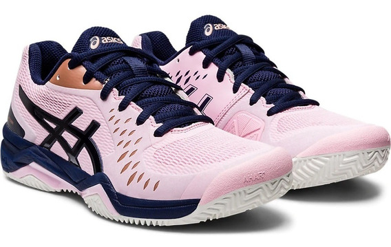 Asics Zapatillas Tenis Mujer Gel Challenger 12 Clay Rosa