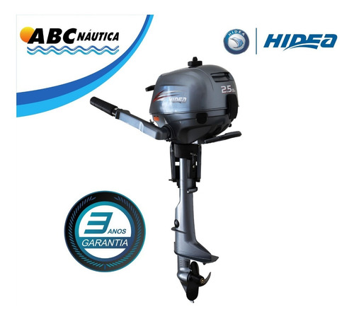 Motor De Popa 2.5hp 4t Hidea