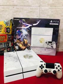 Playstation 4 Edição Limitada Com Jogos E Controle