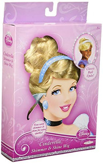 Disney Princess Cinderella Shimmer Y Shine Wig