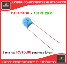 Capacitor 101pf - Capacitor 100kpf - Capacitor 100pf - 2kv