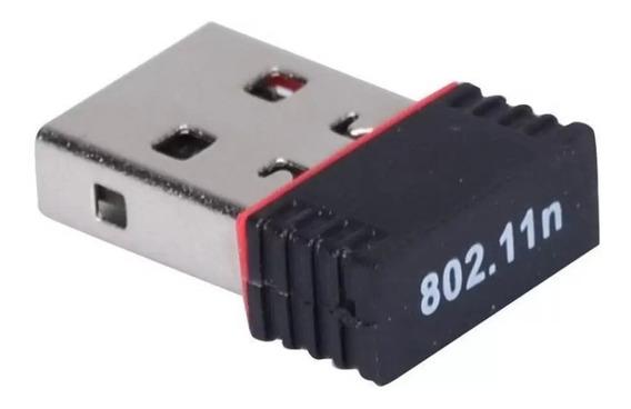 Adaptador Wifi Usb Mini 150 Mbps Placa Red Inalambrica Cba