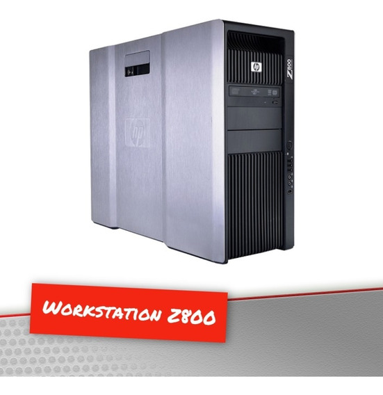 Workstation Hp Z800 X2 Xeon E5620 2.4 Ghz 128gb 300gb Fx3800