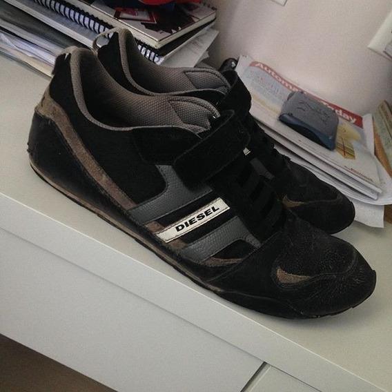 Sapato Diesel Numero Quarenta E Tres