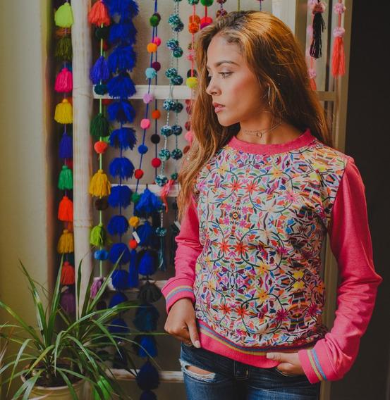 Sudaderas Mujer ,diseño Mexicano ,ropa Para Dama, Moroleon