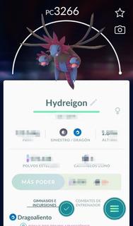 Hydreigon Intercambio Con Suerte Pc 3000+
