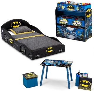 Camita Infantil Con Accesorios,dc Comics Batman 5-piezas