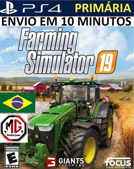 Farming Simulator 19 Ps4 - Original 1 - Portugues - Promoção