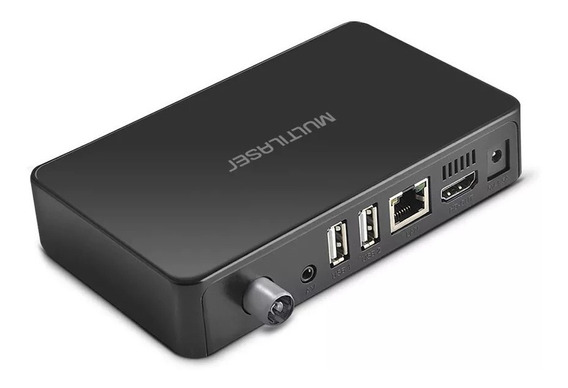 Smart Tv Box 8gb Flash C/ Conversor Digital Hdmi - Pc001