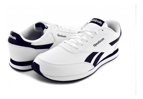Tenis Reebok Ar2136 White/collegiate Nav Royal Cl Jog 2l 25