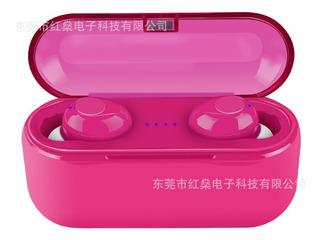 Som Rosa Tws 5.0 Fone De Ouvido Bluetooth 5.0 Fone De Ouvido