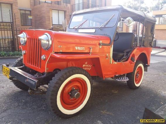 Jeep Willys Cj3b 4c Civil