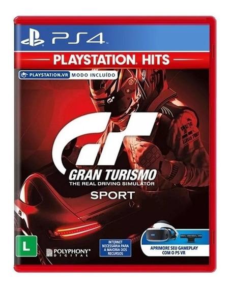 Gran Turismo Sport Midia Fisica- Ps4 Lacrado