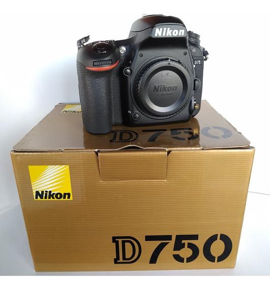 Nikon D750 (menos De 6 Mil Clicks) Ler Descriçao