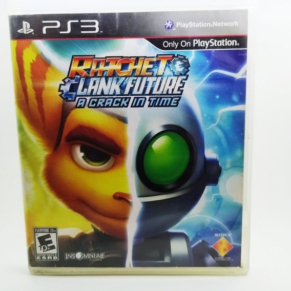 Ratchet Clank Future Crack In Time Físico Usado Ps3