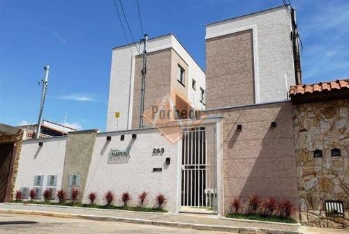 Imagem 1 de 17 de Apartamento Tipo Studio No Jardim Helena, 37 M², 2 Dormitórios, R$ 165.000,00 - 2383