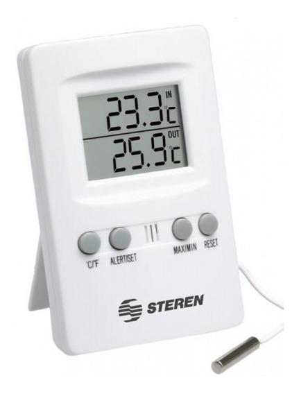 Termómetro Digital Para Interiores Y Exteriores C | Ter-100
