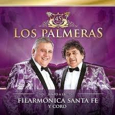 Los Palmeras Junto A La Filarmonica Santa Fe Cd + Dvd 2017