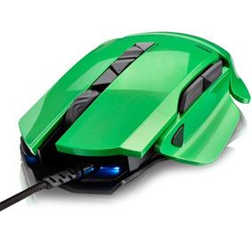 Mouse Gamer Multilaser Warrior 8200dpi 8 Botões Mo247 Led Co