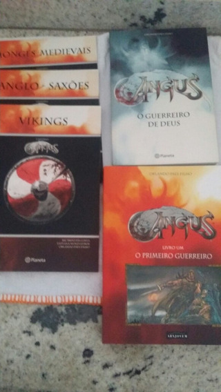 Angus Guerreiro Deus 5 Livros Orlando Paes Vikings Saxoes