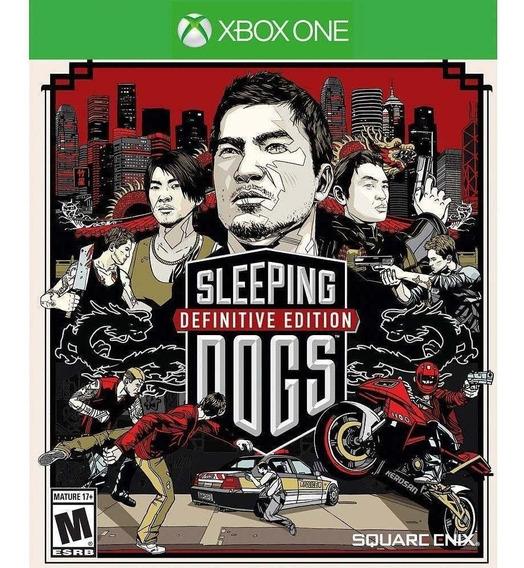 Sleeping Dogs Definitive Edition Xbox One Midia Fisica Novo