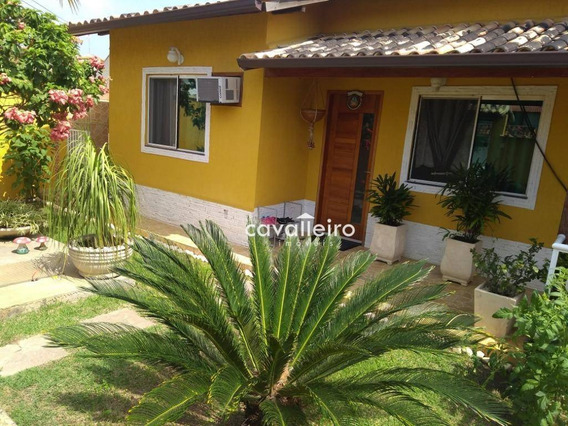 Excelente Casa Em Condomínio No Centro De Maricá - Ca3136