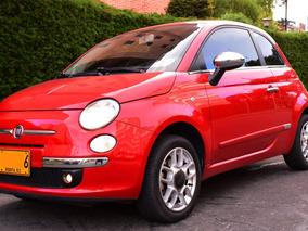 Hermoso Fiat 500, Motor Económico 1.3 Rojo.