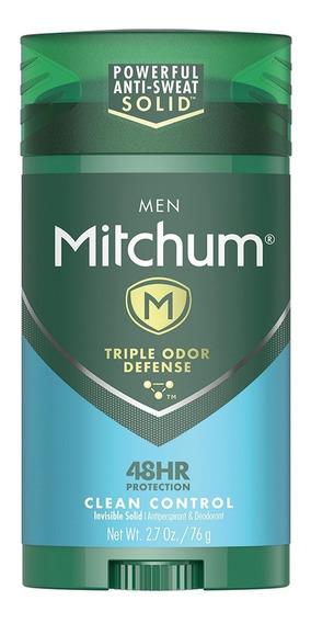 Desodorante Antitranspirante Men Advanced Stick 76g Mitchum