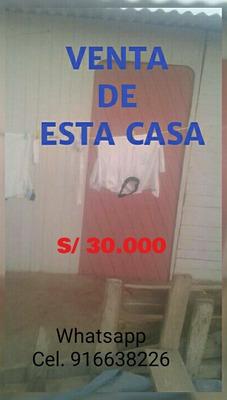 Se Vende Esta Casa En Lima En El Distrito De Santa Rosa.