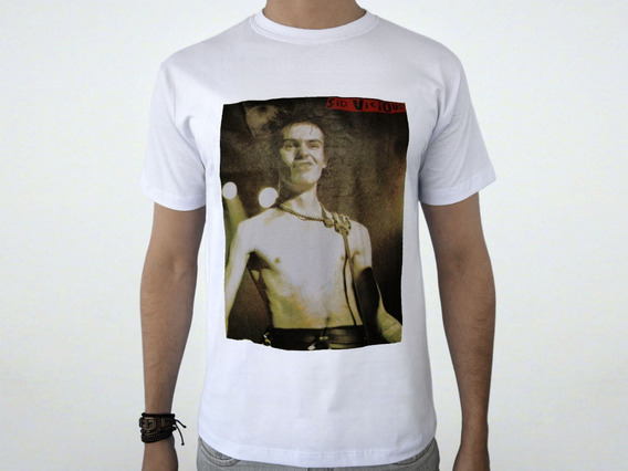 Camiseta Sex Pistols - Never Mind The Bollocks - Sid Vicious