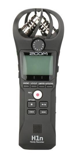 Gravador Digital Zoom H1n Profissional Stereo + Epuma + 32gb