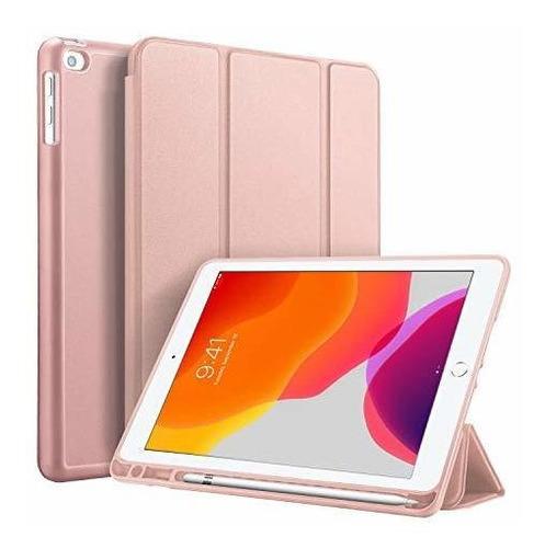 Imagen 1 de 8 de Nuevo Estuche iPad 10.2 2019 Con Portalapices, Estuche De Cu