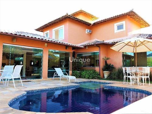 Casa Com 4 Dormitórios À Venda, 280 M² Por R$ 2.100.000,00 - Centro - Armação Dos Búzios/rj - Ca0428