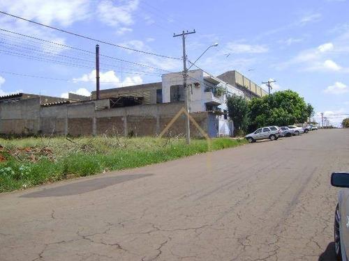 Imagem 1 de 3 de Terreno Industrial A Venda Em Nova Odessa/sp - Te0162