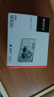 Camara Sony Cyber-shot Dsc-w830 Negro 20.1mp