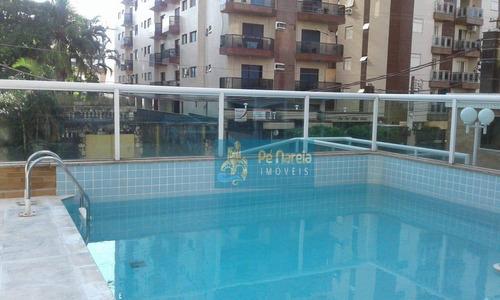 Apartamento Com 2 Dormitórios À Venda, 81 M² Por R$ 400.000,00 - Canto Do Forte - Praia Grande/sp - Ap0284