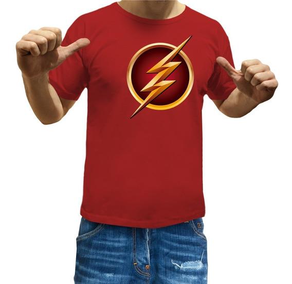 Remeras Flash Niños Star Labs Comics Superheroe Serie