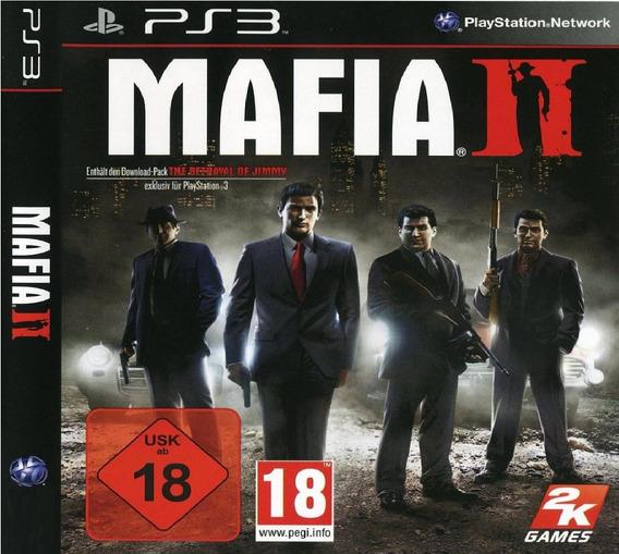 Jogo Mafia 2 Ps3 Midia Digital Codigo Psn Envio Imediato