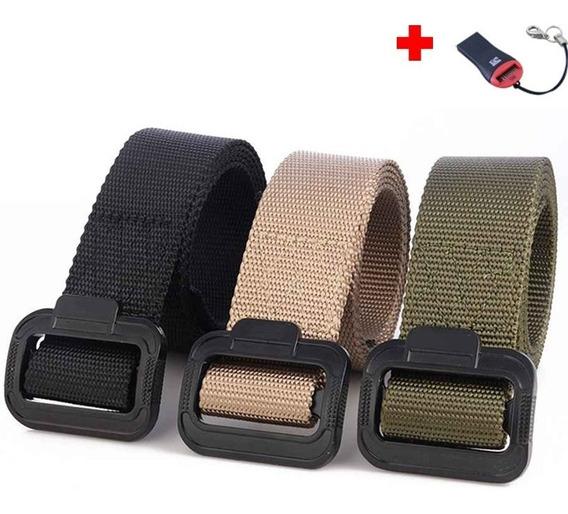 Cinturón Táctico Militar Casual Uniforme Resistente G51pp