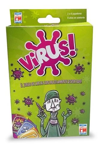 Imagen 1 de 5 de Juegos De Mesa Virus Fotorama 1194