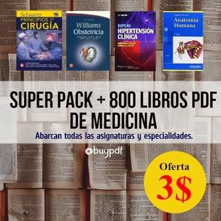 Combo +800 Libros Pdf De Medicina