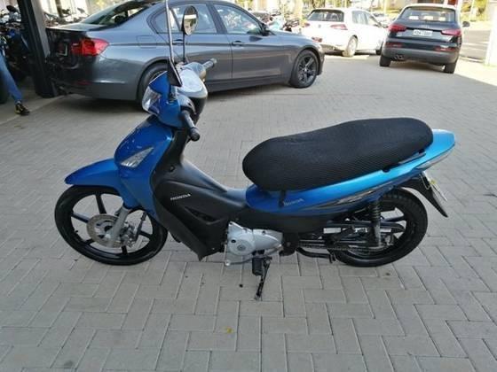 Hondabiz 125 + Azul