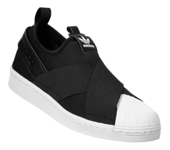Tenis Adids Slip On Unissex Confortável Academia -60% +frete