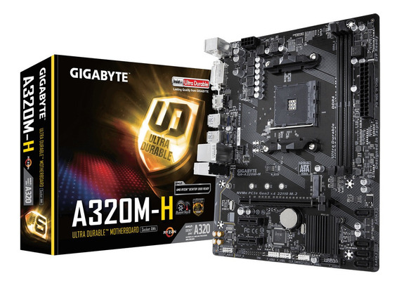 Kit Upgrade Ryzen Athlon 2 200ge + Gigabyte + 4gb Ddr4