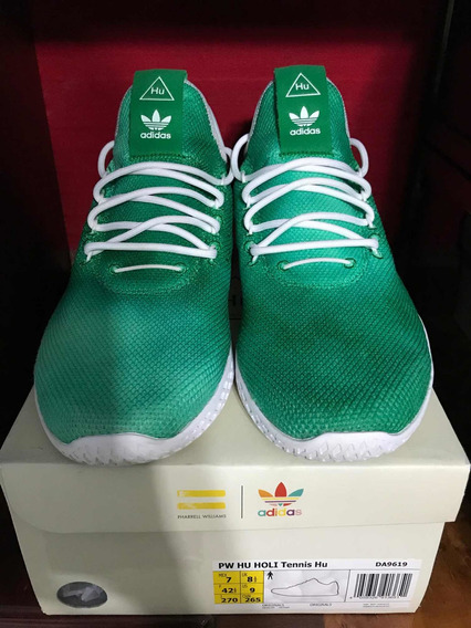 adidas Tenis Hu Holi Green Pharrell Williams Originales.