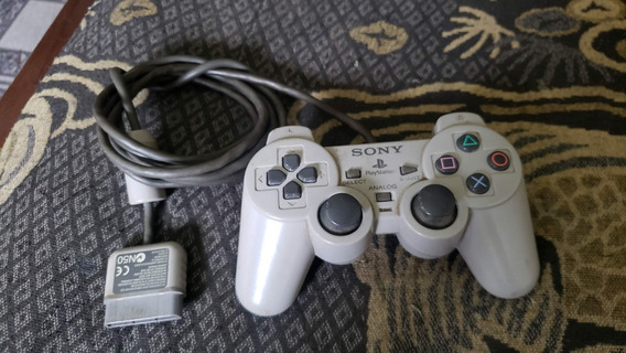 Controle Original Séria A Playstation 1 Psone Leia Obs F55