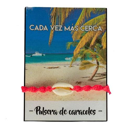 Imagen 1 de 9 de Pulsera De Caracol - Brazalete De Caracoles Pulsera Verano