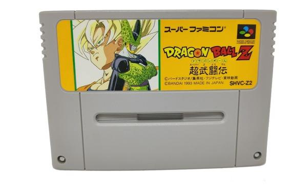 Fita Dragon Ball Z Nintendo Snes Super Famicom Original